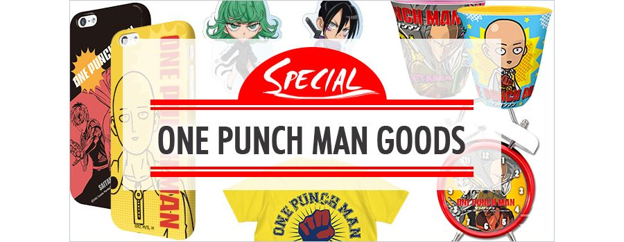 One-Punch Man Merchandise: Knock-out Items for Fighting Fans