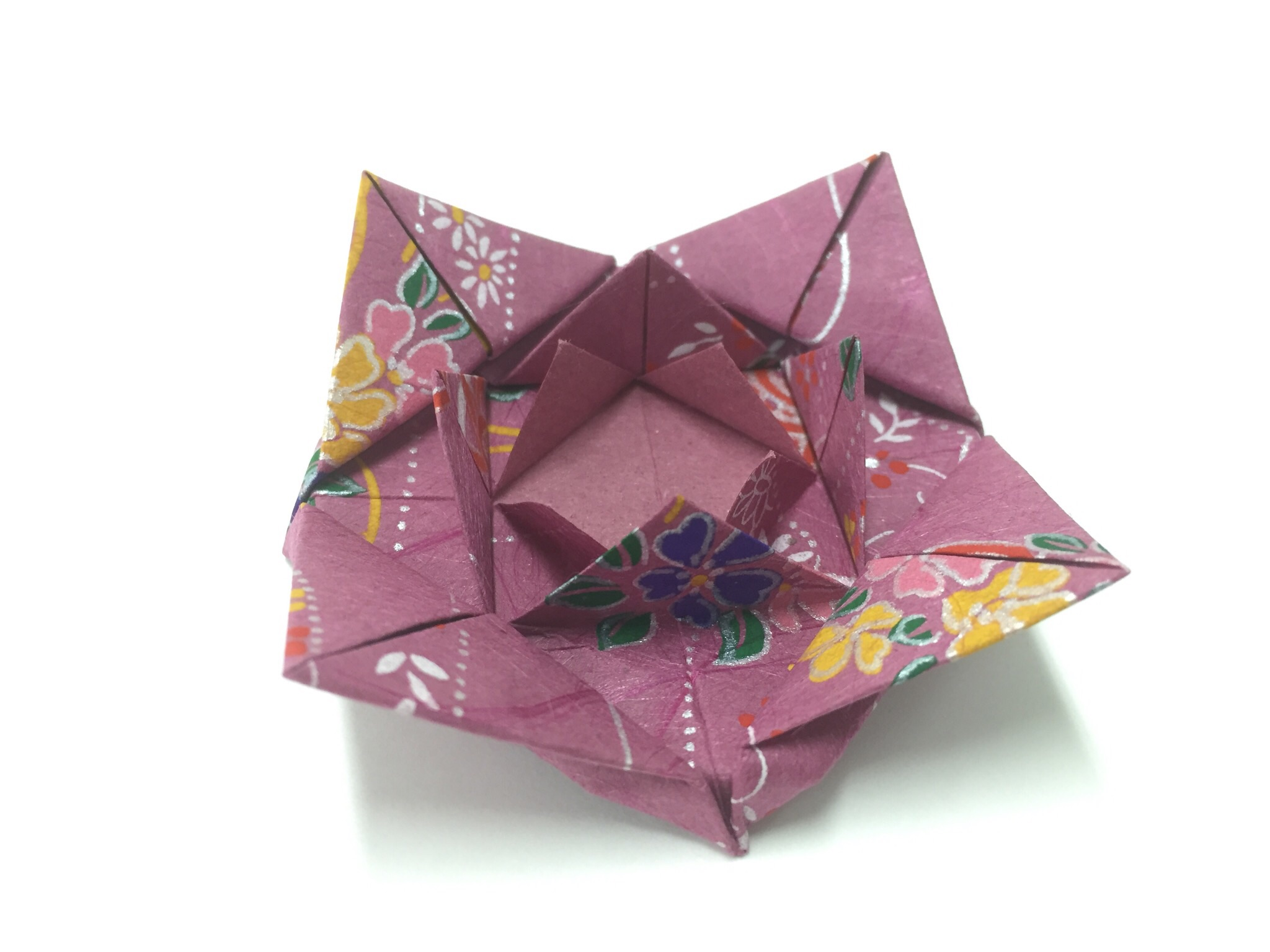 how to make an origami rose instructions step by step
