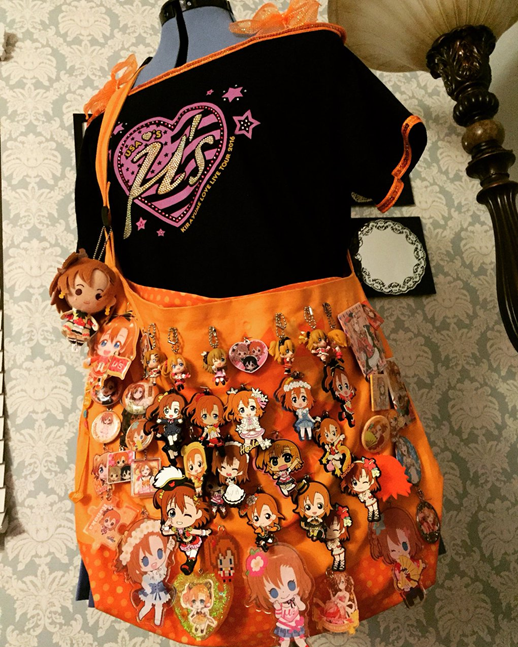 orange ita bag