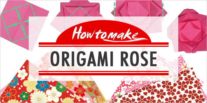 How to Make an Origami Rose in 8 Easy Steps