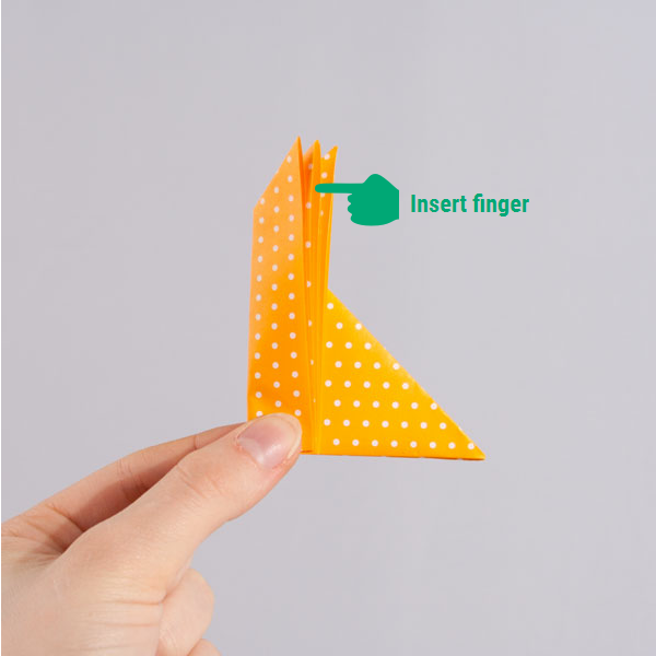 origami fox step 7