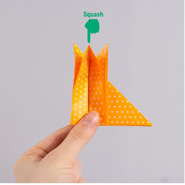 origami fox step 8
