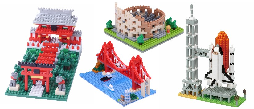 Sights to See nanoblock