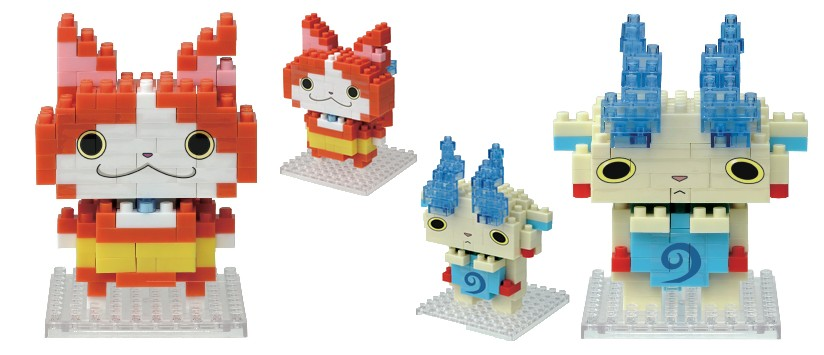 Yokai Watch Nanoblocks