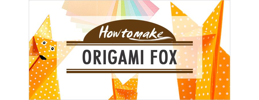 Origami fox | Paper crafts origami, Origami design, Origami crafts | 350x900