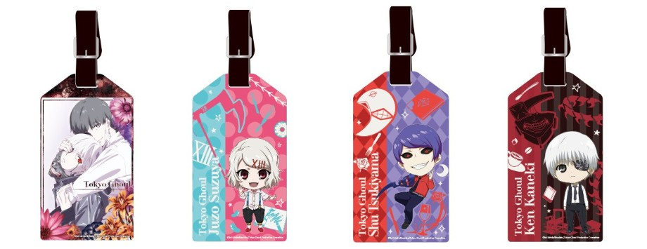 tokyo ghoul luggage tags