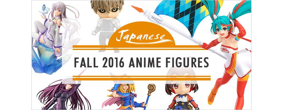 New Anime Figures 2016: 9 of Fall's Most In-demand Releases