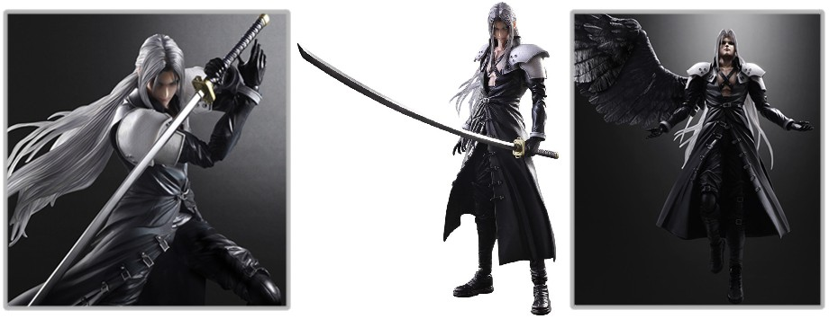 Play Arts Kai – Final Fantasy VII: Advent Children: Sephiroth