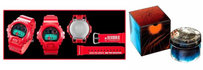 Akira G-Shock Models: Kaneda DW-6900 and Neo-Tokyo DW-5600