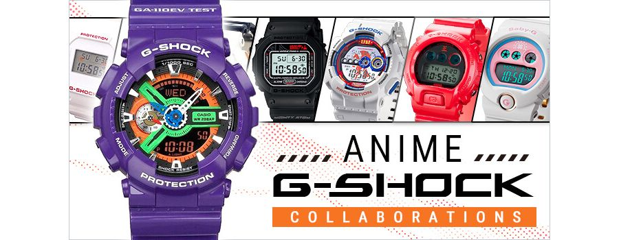 11 Rare Anime G-Shock Collaborations from Japan