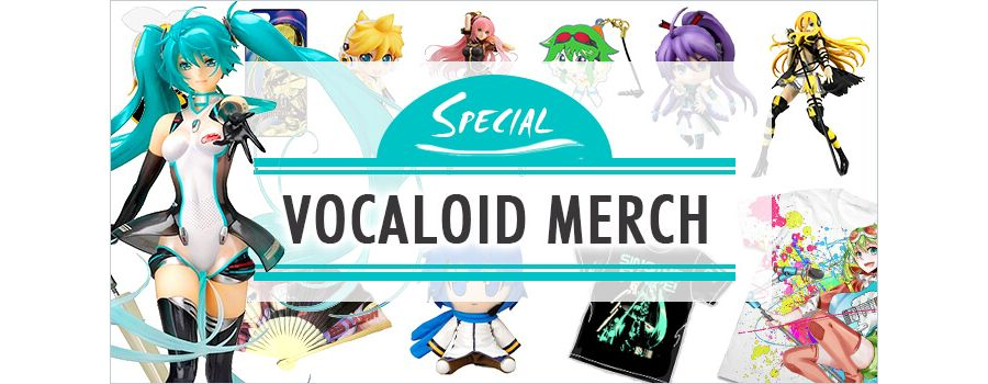 Vocaloid Merch