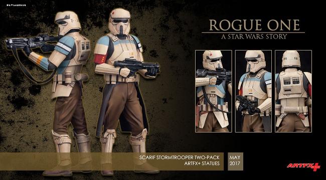 Scarif Stormtrooper Figures