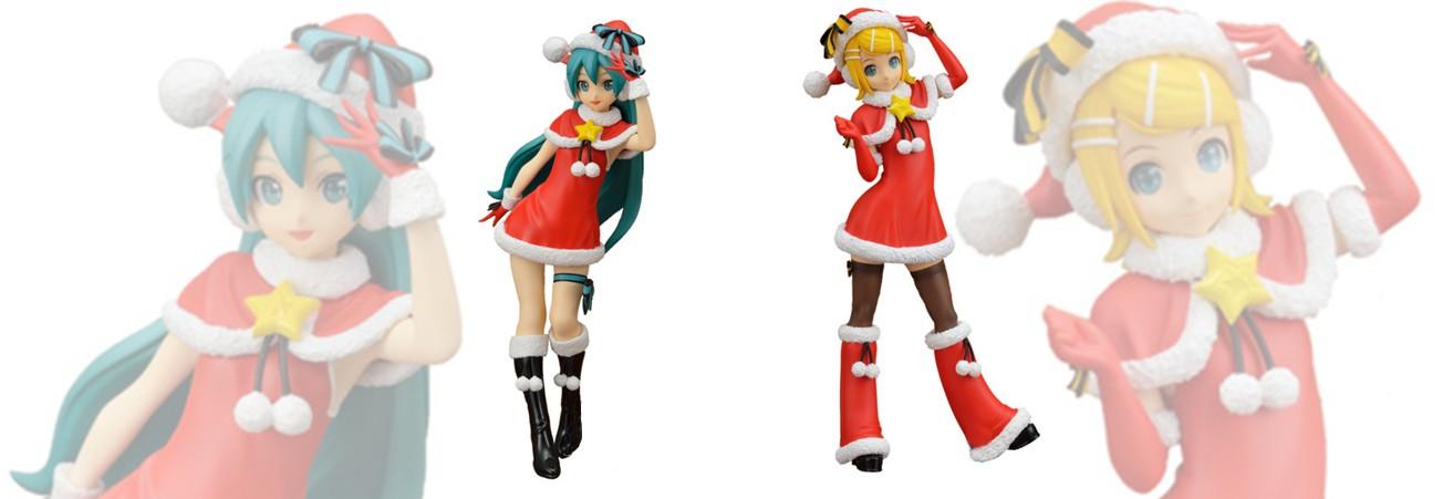 SEGA Prize Figure – Hatsune Miku & Kagamine Rin: -Project DIVA- Arcade Future Tone