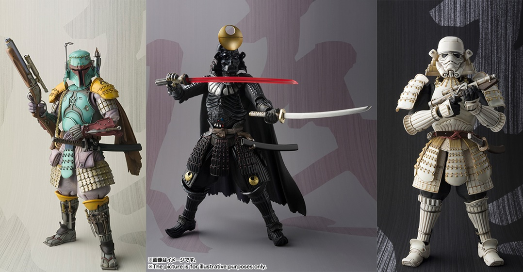 Bandai Star Wars Movie Realization Figures