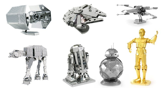 Star Wars Metal Puzzles by Tenyo