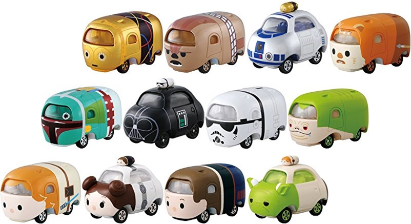 Tomica Star Wars Star Cars: Tsum Tsum Series