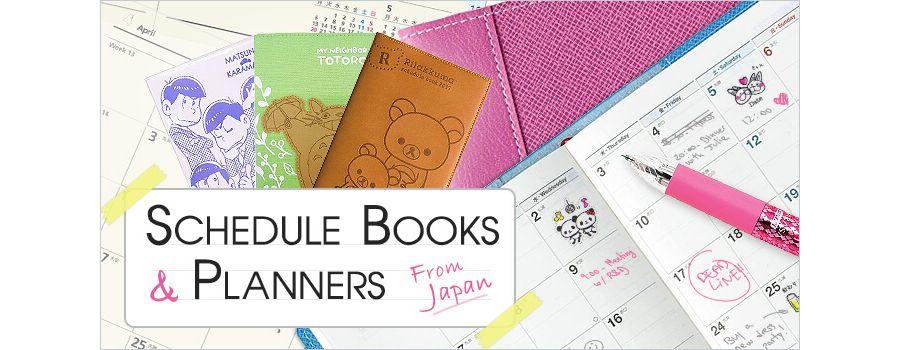Start the New Year Right with Schedule Books and Planners from Japan