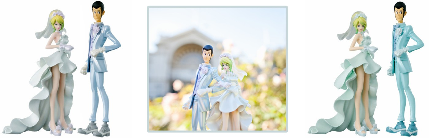 Banpresto – Lupin the Third and Rebecca Rossellini Wedding ver.