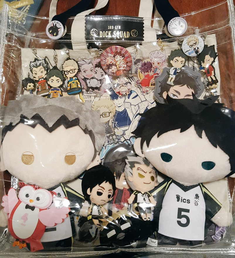 Haikyuu!! Ita Bag Accessories