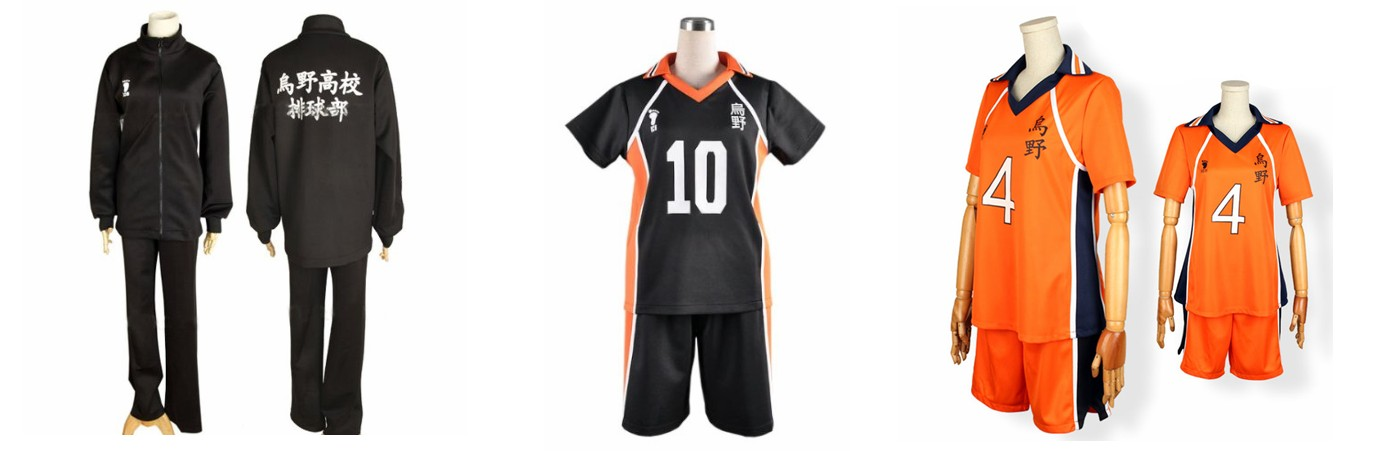 Haikyuu!! Karasuno Jackets & Jerseys