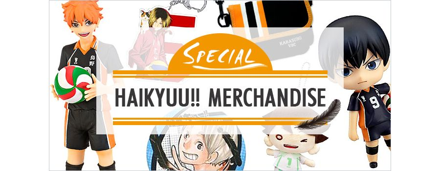 Haikyuu!! Merchandise: 3 Ways to Show Your Team Spirit!