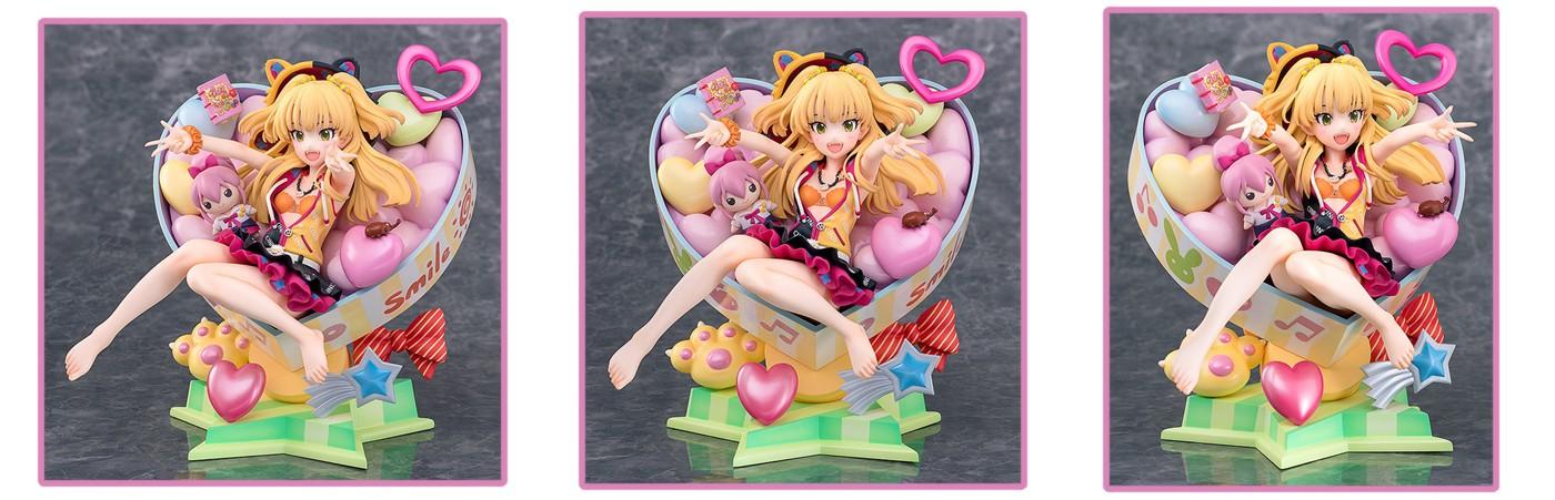 Phat! Company – The Idolmaster Cinderella Girls: Rika Jougasaki Charisma Chibi Girl Ver. 1/8 Scale Figure