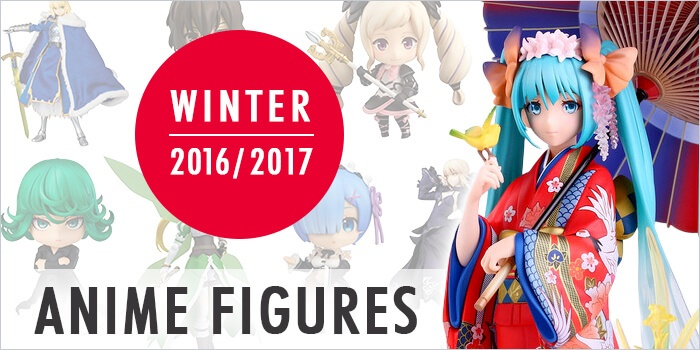 2016/2017 best winter anime figures