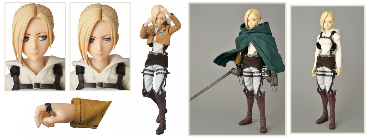 Attack on Titan Medicom: REAL ACTION HEROES – Annie Leonhart