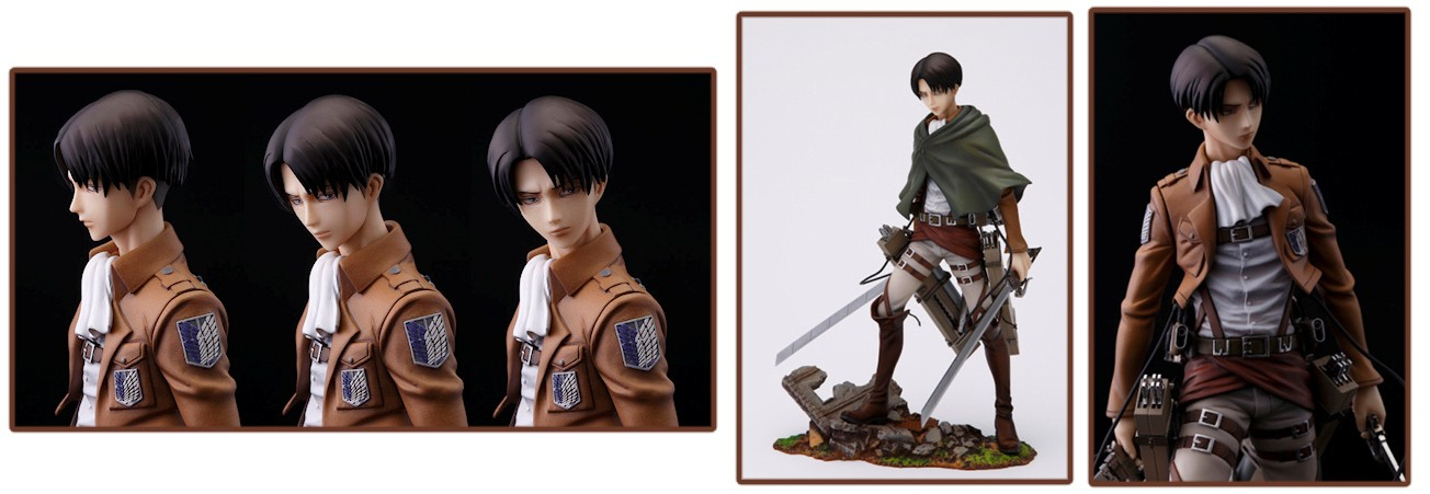 Attack on Titan BRAVE-ACT – Levi Ackerman