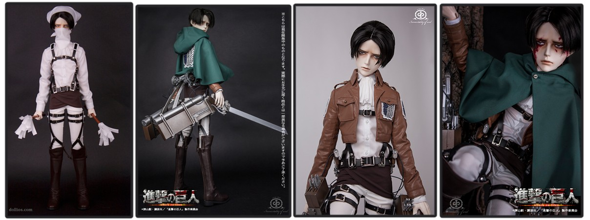 Attack on Titan Immortality of Soul x DOLKSTATION – Levi Ackerman