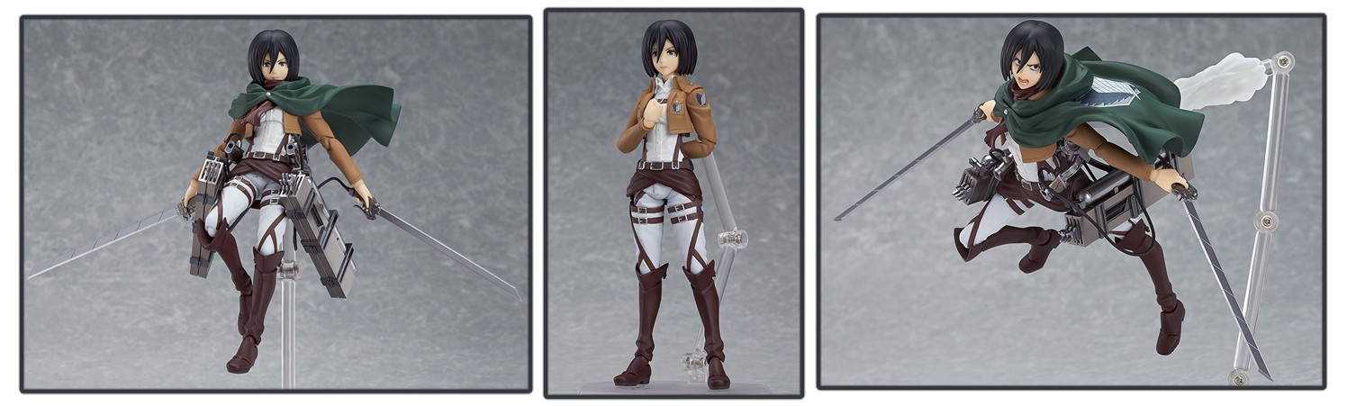 Attack on Titan Figma – Mikasa Ackerman