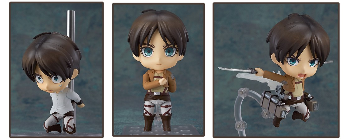 Attack on Titan Nendoroid – Eren Yeager
