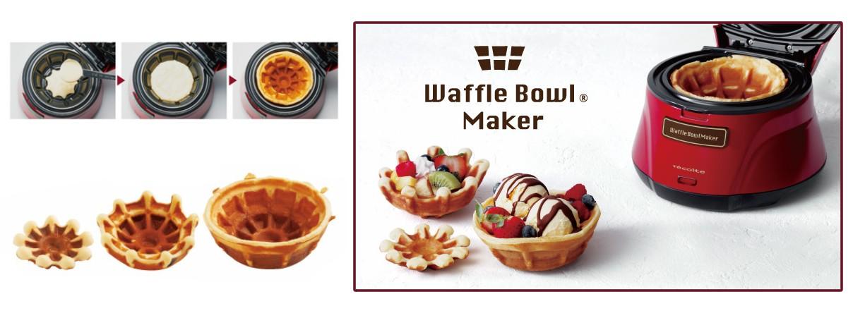 Récolte Waffle Bowl Maker