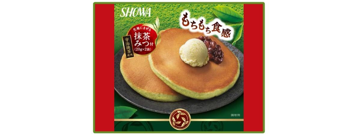 Showa Matcha Pancake Mix & Syrup