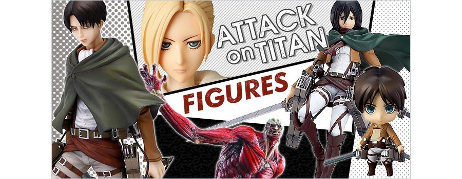 9 Attack on Titan Figures to Sink Your Titanic Teeth Into