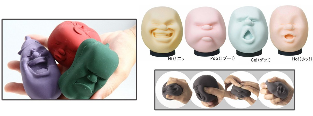 10 Japanese Stress Relief Products From Shouting Vases To Squeezing