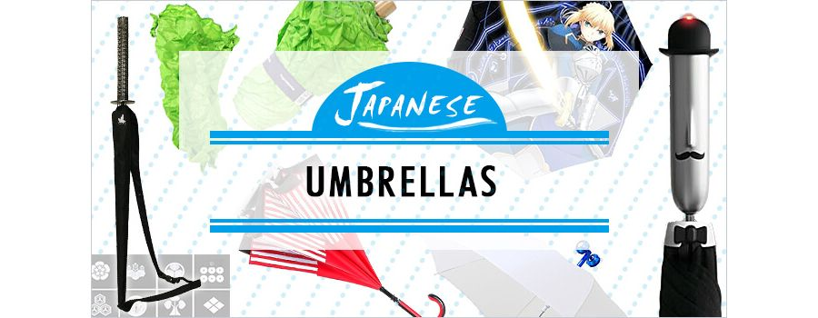 9 Japanese Umbrellas That Will Keep You Dry in Style