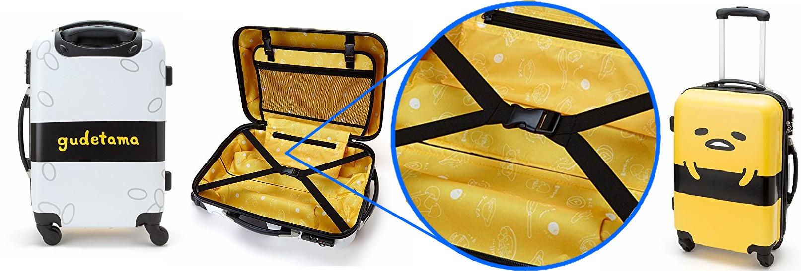Gudetama Suitcase
