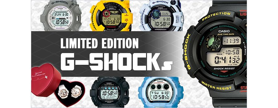 10 Limited Edition G-Shocks from Japan