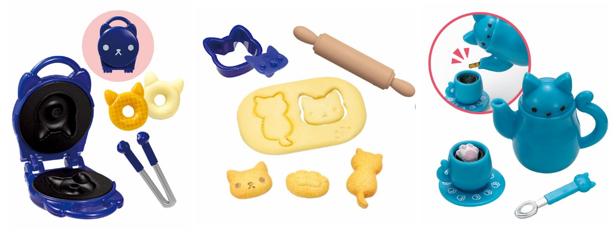 Nyanko Kitchen Gashapon