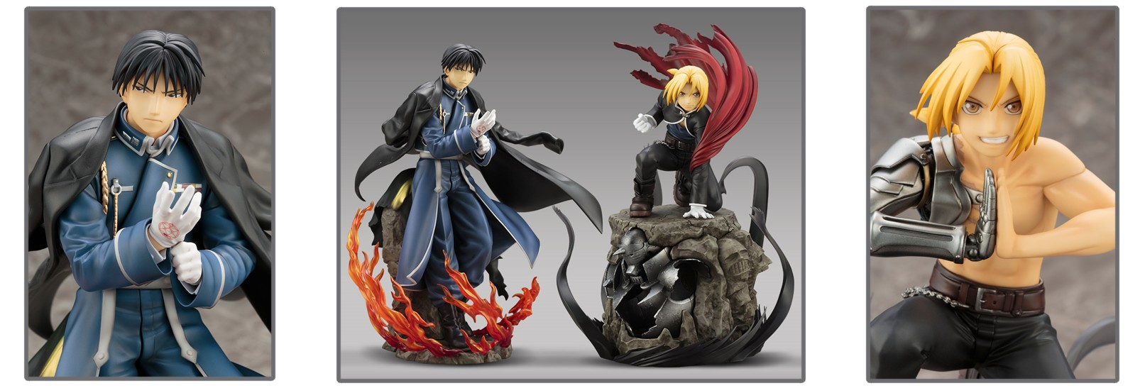 ARTFX J – Fullmetal Alchemist Brotherhood: Roy Mustang and Edward Elric