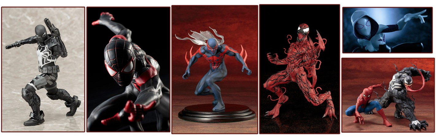 ARTFX+ – Spider-Man Figure Series