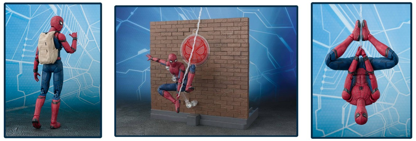 "S.H. Figuarts – ""Spider-Man: Homecoming"" Figure"