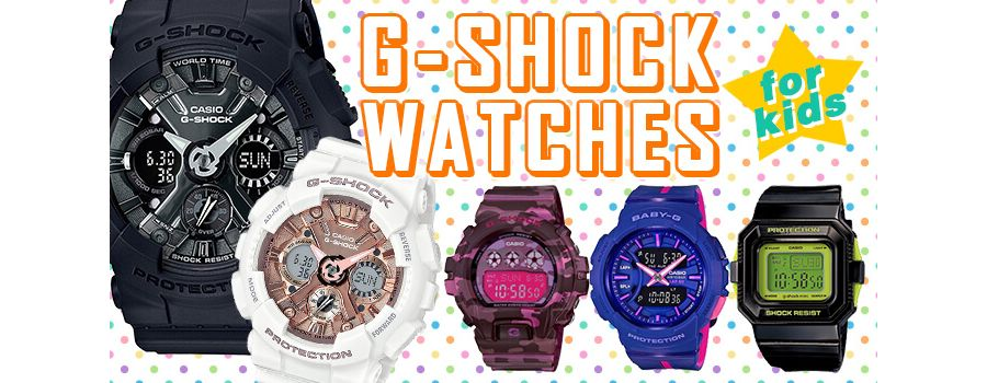 G-Shock Watches for Kids: 10 Timepieces for Little Wrists