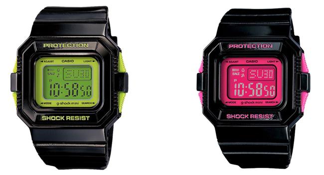 G-Shock Mini GMN-550-1CJR & GMN-550-1BJR