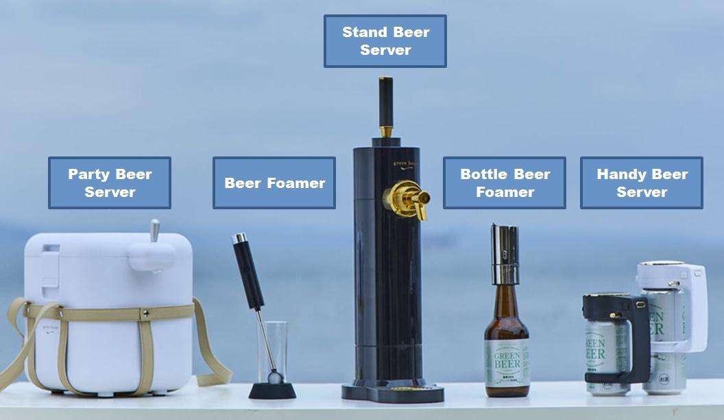 Green House Beer Server Series