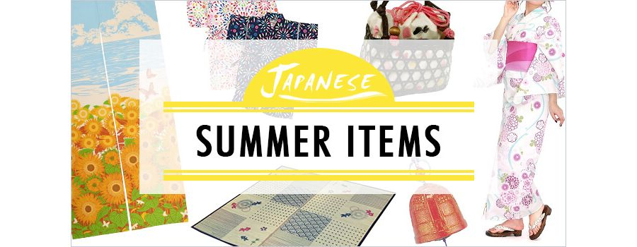 Traditional Japanese Summer Items