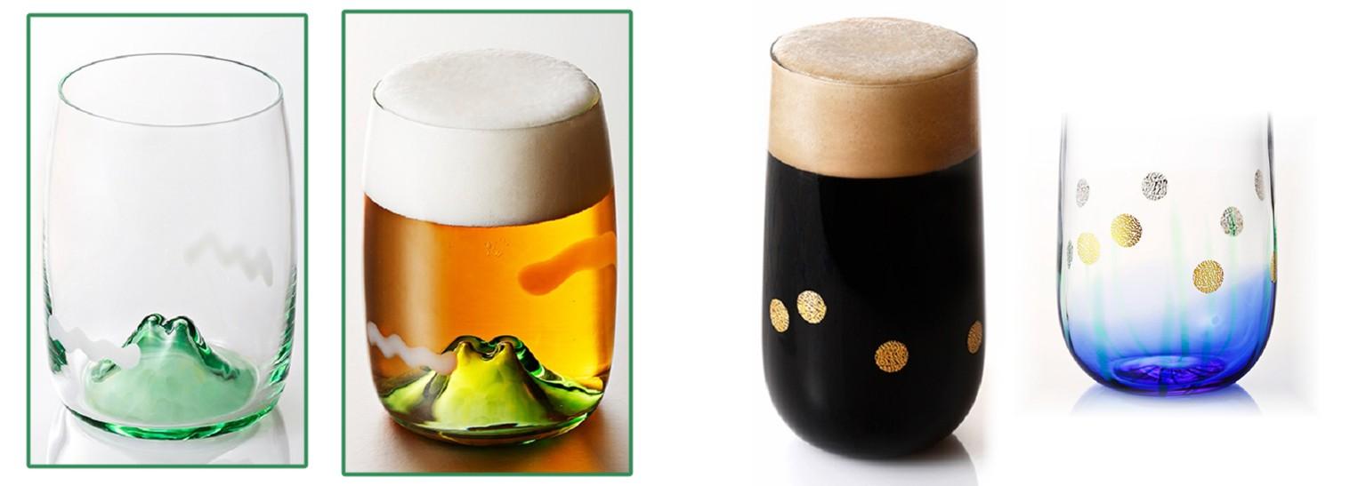 Tsukiyono Kobo Beer Glasses