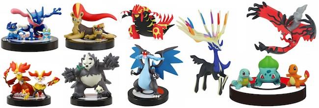 Pokemon Gashapon: 1/40 Scale Real Pokemon Figures XY