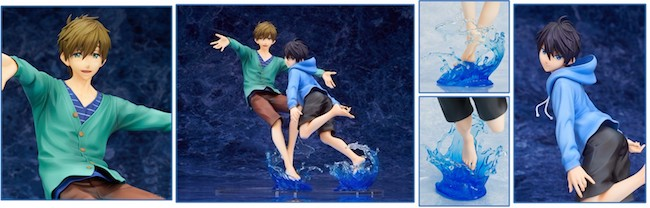 Altair – High Speed!: -Free! Starting Days-: Makoto & Haruka 1/7-Scale Figures